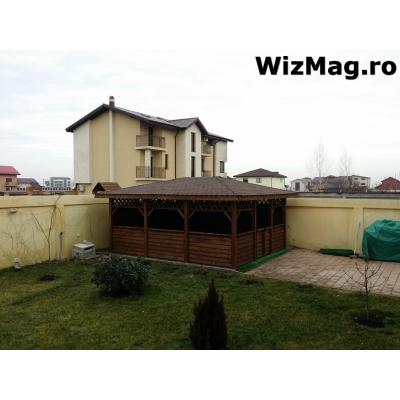 Pergole din lemn pentru terasa