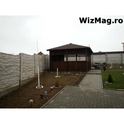 Pergole din lemn Sibiu