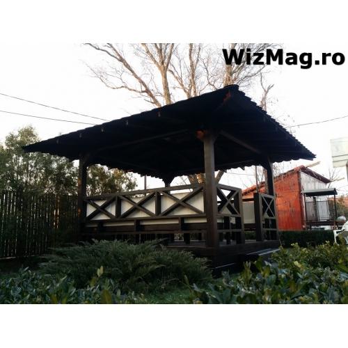 Foisor din lemn hexagonal Valcea