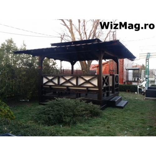 Foisor dreptunghiular de lemn Buzau