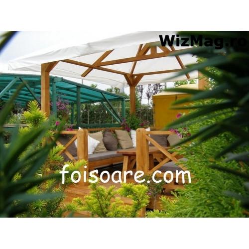 Gard lemn Buzau