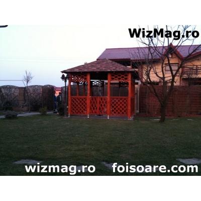 Mobilier din lemn de rasinoase